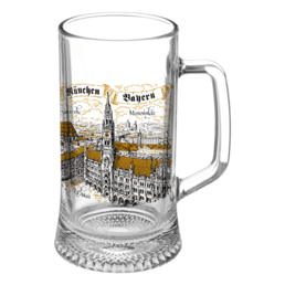 Glass Beer Mugs 0.33 L G-002