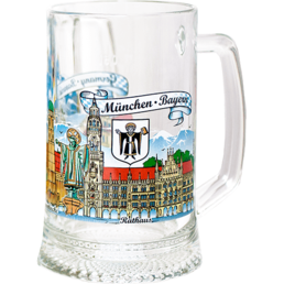 Glass Beer Mugs 0.5 L G-005